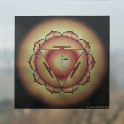 Adesivo Terzo Chakra Manipura