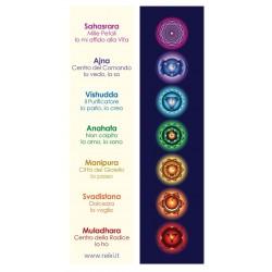 Segnalibri 7 Chakra