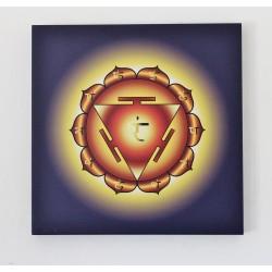3° Chakra - Stampa ad acqua su Tela