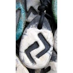 Ciondolo Runa Ceramica Raku