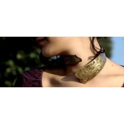 """Collare """"Sedna"""" in ottone ecologico"""