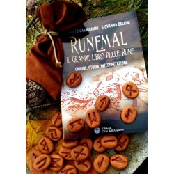 Set Libro Runemal e Rune in Terracotta