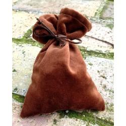 Set Rune Oracolo Terracotta con sacchetto in velluto
